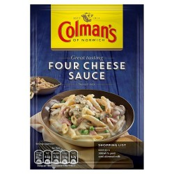 Colmans Four Cheese Sauce Mix 35G