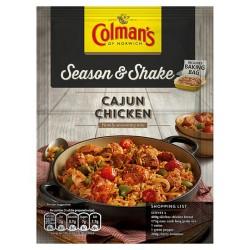 Colman's Season & Shake Cajun Chicken Southern Mix 45G