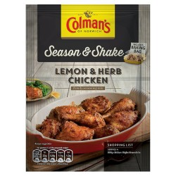 Colman's Season & Shake Lemon And Herb Chicken Southern Mix 20G