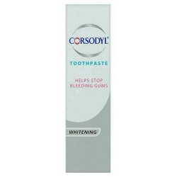 Corsodyl Paste Whitening 75Ml