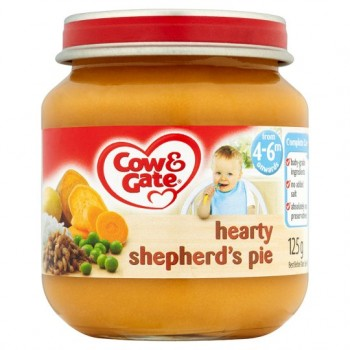 Cow & Gate Baby Balance 4 Month Hearty Shepherds Pie 125G