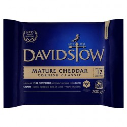 Davidstow Mature Cornish Classic Cheddar 200G