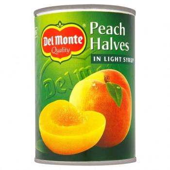 Del Monte Peach Halves In Syrup 420G