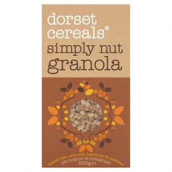 Dorset Cereals Simply Nutty Granola 550G