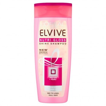 Elvive Proteins Nutri-Gloss Shampoo 250Ml