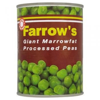 Farrow's Giant Marrow Fat Processed Peas 538G