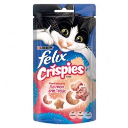 Felix Crispies Salmon And Trout 45G