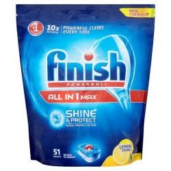 Finish All In 1 Lemon 51 Dishwasher Tablets