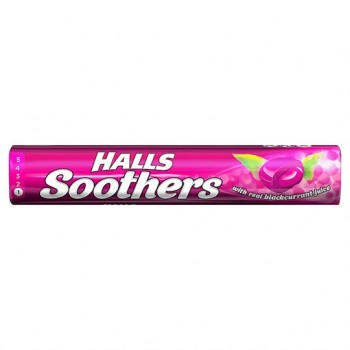 Halls Soothers Blackcurrant 10'S