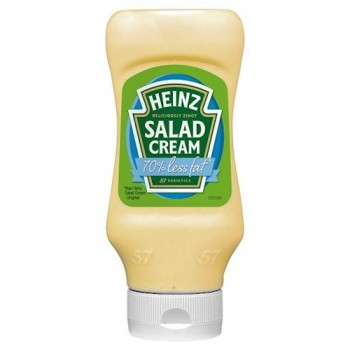 Heinz Salad Cream Extra Light Top Down 470G