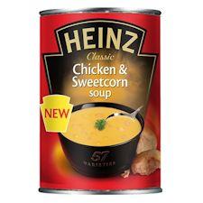 Heinz chicken sweetcorn