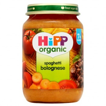 Hipp 7 Month Organic Spaghetti Bolognese 190G