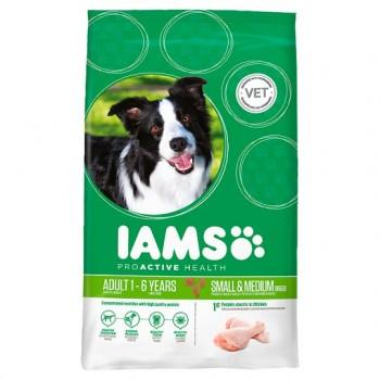 Iams Dog Food Adult Small Medium 10Kg