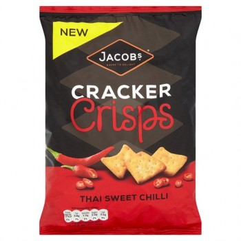 Jacobs Cracker Crisps Thai Sweet Chilli 150G