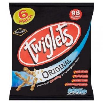 Jacobs Twiglets Snacks 6X24g
