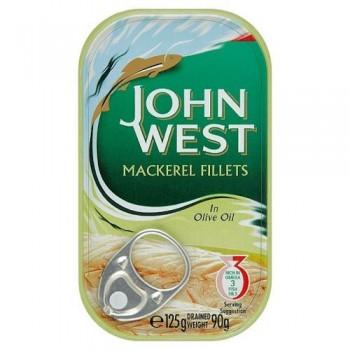 John West Foods Mackerel Olive Oil 125G