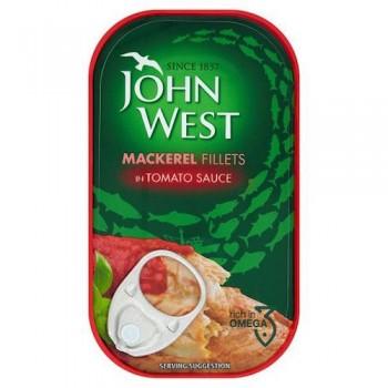 John West Mackerel Tomato 125G