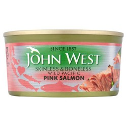 John West Pink Salmon Skinless And Boneless 170G