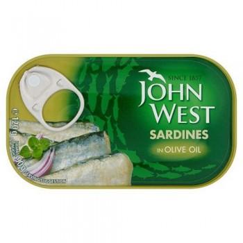 John West Sardines Olive Oil 120Gm