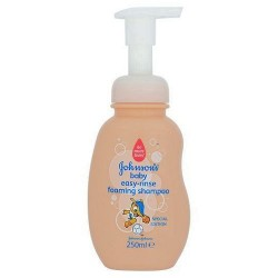 Johnson's Baby Easy Rinse Foam Shampoo 250 Ml