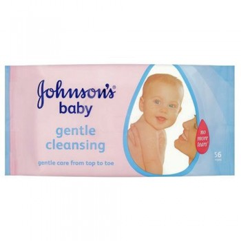 Johnsons Baby Skincare Wipes Refill 56