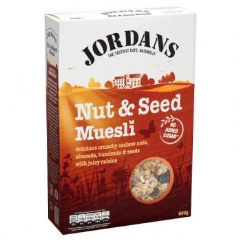 Jordans Special Nut And Seed Muesli 600G