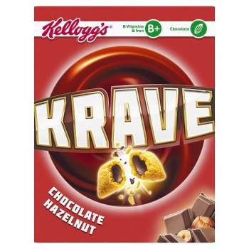 Kelloggs Krave Cereal 375G