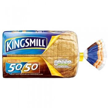 Kingsmill 50 50 Medium Bread 800G