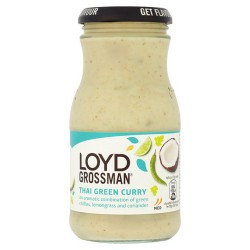 Loyd Grossman Green Thai Curry Sauce 350G