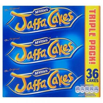 Mcvities Jaffa Cakes Triple Pack 36S