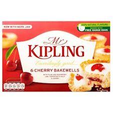 Mr Kipling Cherry Bakewells 6 Pack