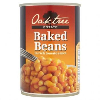 Oaktree Estate Baked Beans In Tomato Sauce 420G
