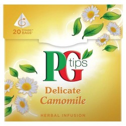 Pg Tips Camomile 20S Teabags 20G