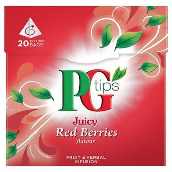 Pg Tips Red Berries 20 Teabags 38G
