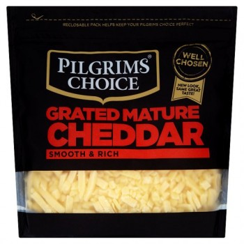 Pilgrims Choice Mature Grated Cheddar 300G