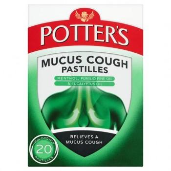 Potters Mucus Cough 20 Pastilles