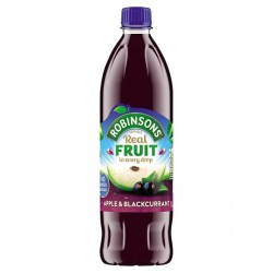Robinsons Apple And Blackcurrant No Added Sugar 1L