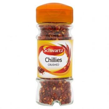 Schwartz Crushed Chillies 29G Jar