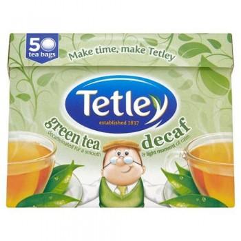 Tetley Decaffeinated Pure Green 50 Teabags