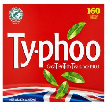 Typhoo 160 Teabags 500G