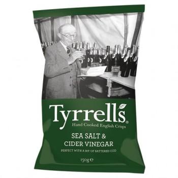 Tyrrells Crisps Sea Salted&Cider Vinegar150g