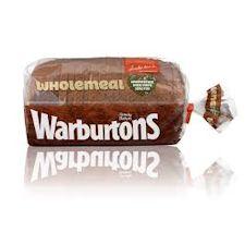 Warburtons Wholemeal Medium Bread 800G