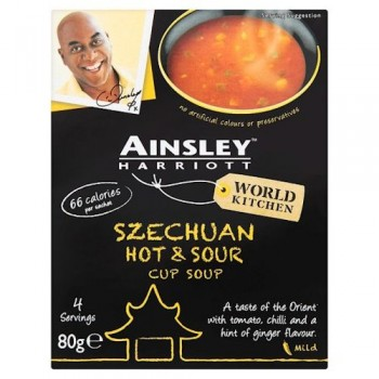 ainsley hot & sour