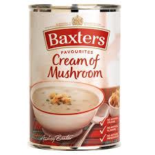 baxters mushroom
