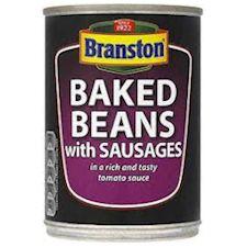 branston beans & sausage