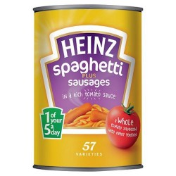 heinz spaghetti & sausage