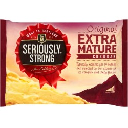 seriously strong Extra Mature White Cheddar Cheese